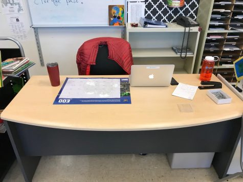 The Desk Podcast–An Interview with Mr. Nutt, the New Spanish Teacher