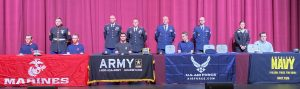 U.S. Military Signing Day 2019 at The Greely Center for the Arts