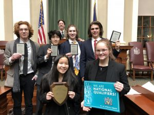 Members of the Greely Debate Team Qualify for Nationals